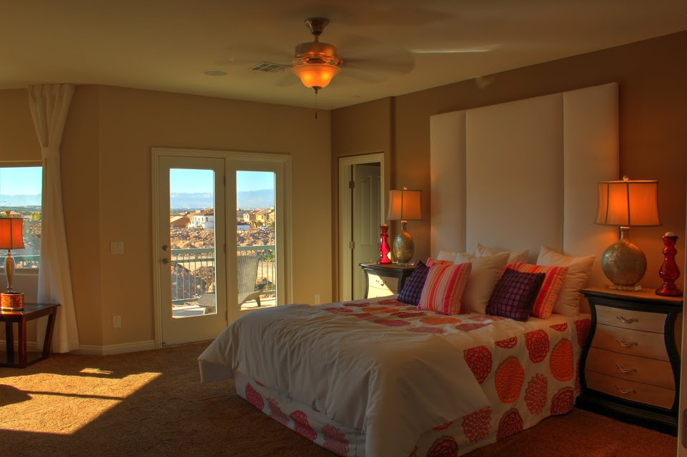 Las VegasMaster Bedroom design